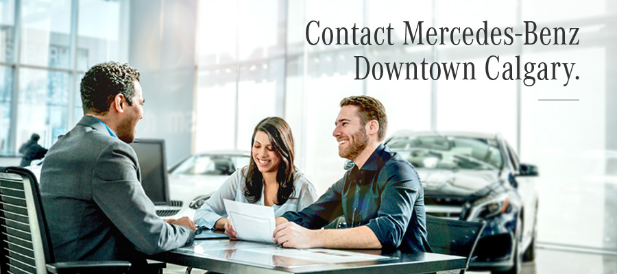 Contact Mercedes-Benz Downtown Calgary
