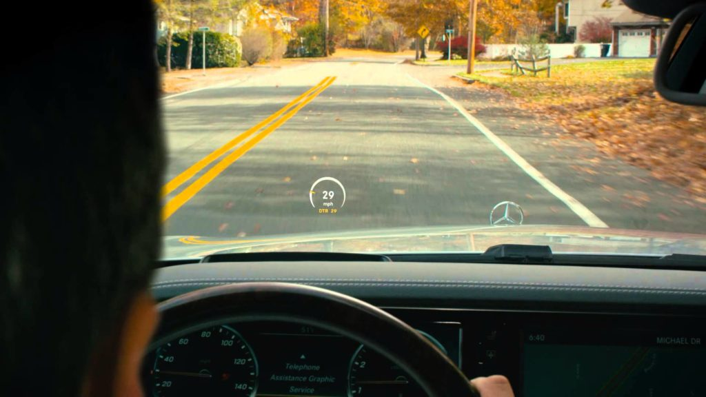 Head-Up Display Vision