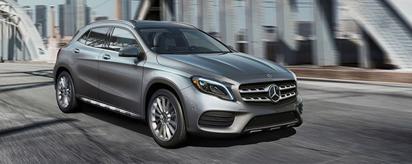 2019 GLA SUV Mercedes-Benz Downtown Calgary