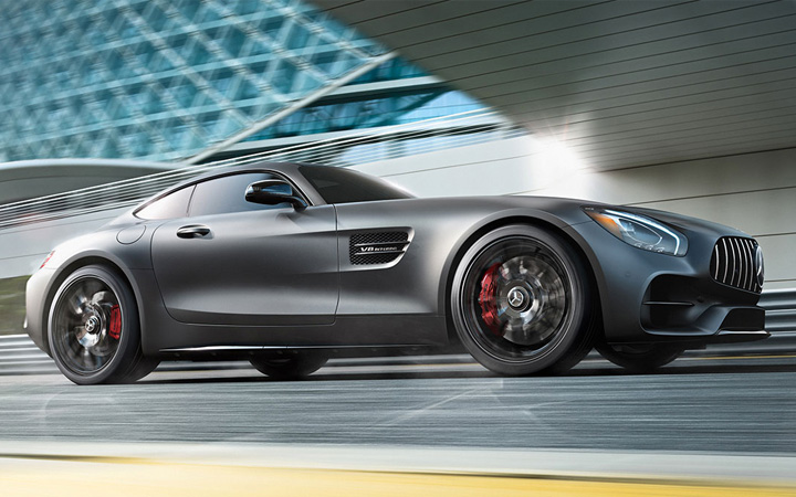 The 2018 Mercedes-AMG GT Coupe In Gray