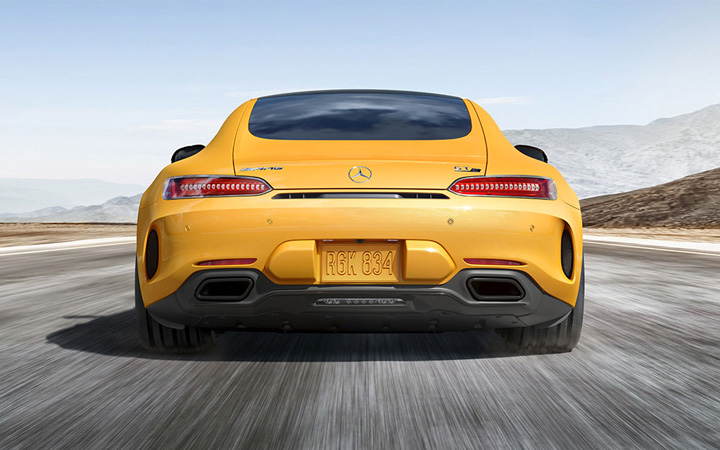 2018 Mercedes-Benz GT Coupe