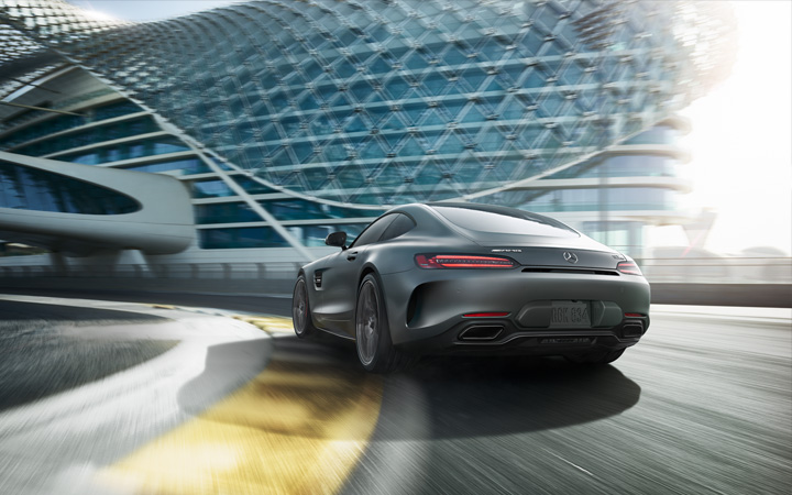 Mercedes-AMG GT Coupe On The Road