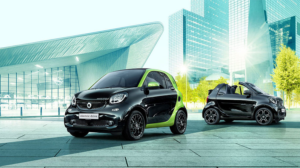 smart Electric from Mercedes-Benz Downtown Calgary
