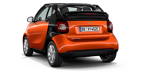 smart cabrio from Mercedes-Benz Downtown Calgary