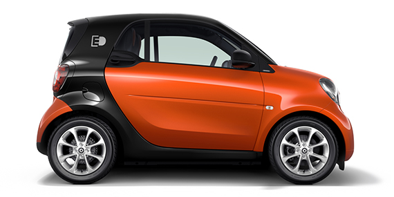 smart Electric Drive Coupe from Mercedes-Benz Downtown Calgary