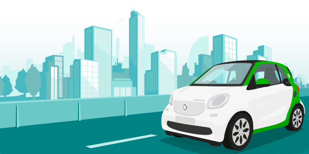 Charge Your Electric smart Mercedes-Benz Everywhere