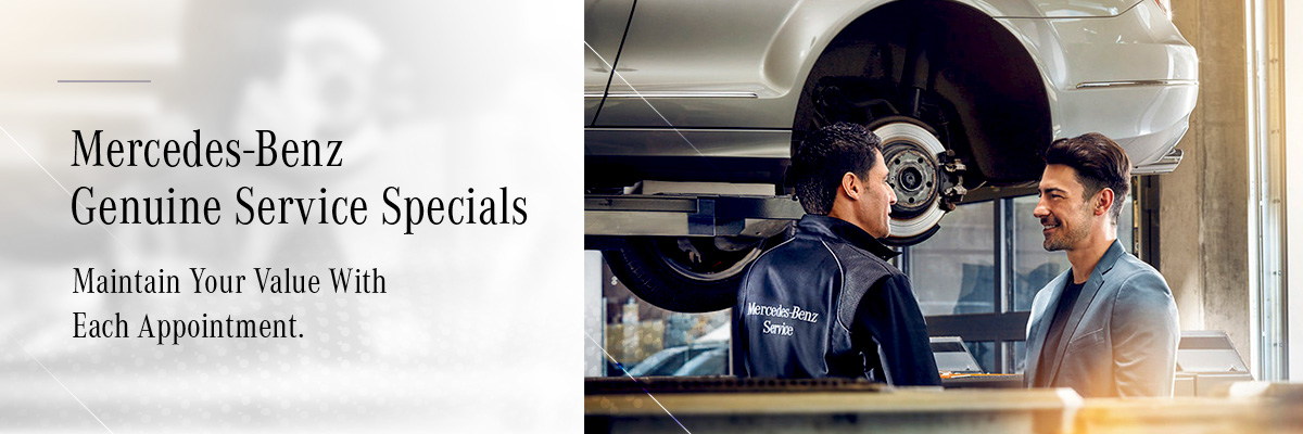 Mercedes-Benz Downtown Calgary - Calgary Mercedes Service Specials