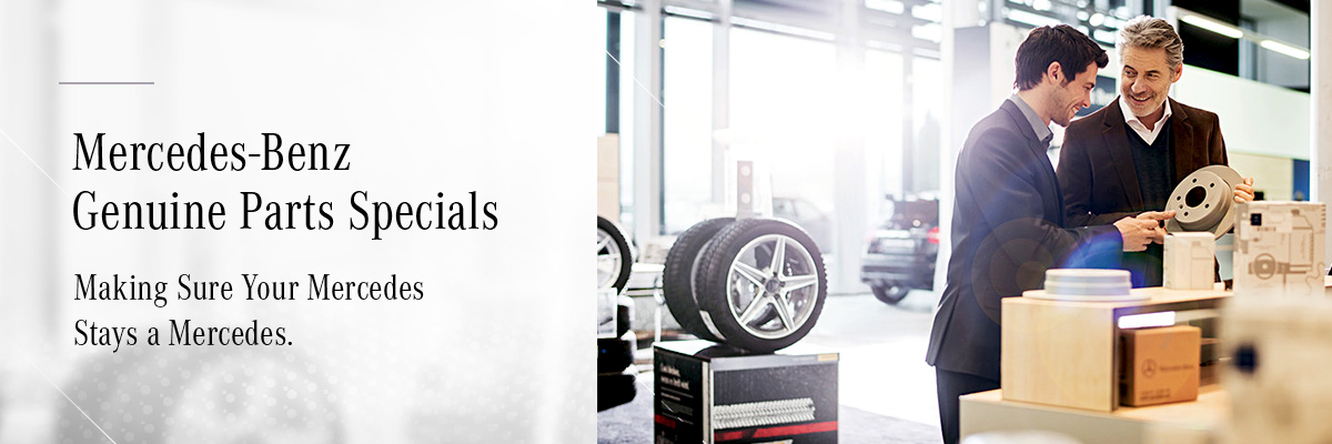 Mercedes-Benz Downtown Calgary | Your Hyatt Mercedes Parts Specials