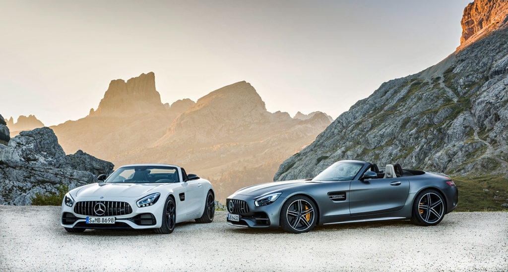 Mercedes-AMG GT C Roadster Pair