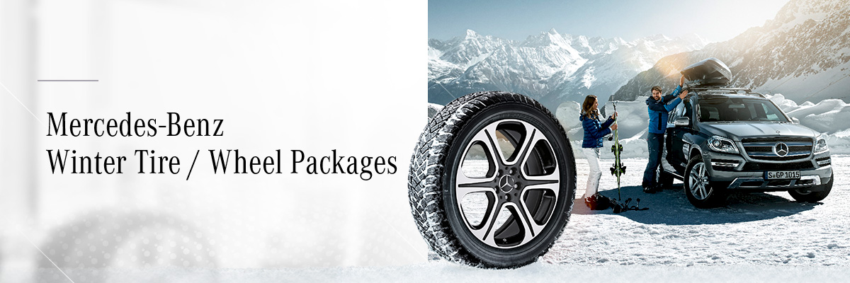 Mercedes-Benz Downtown Calgary - Winter Tire Packages