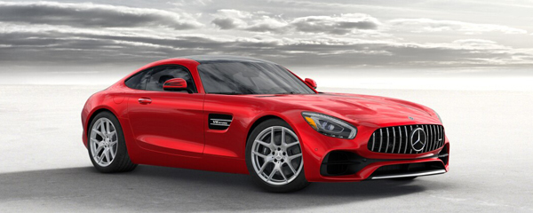 AMG GT Mercedes-Benz Downtown Calgary