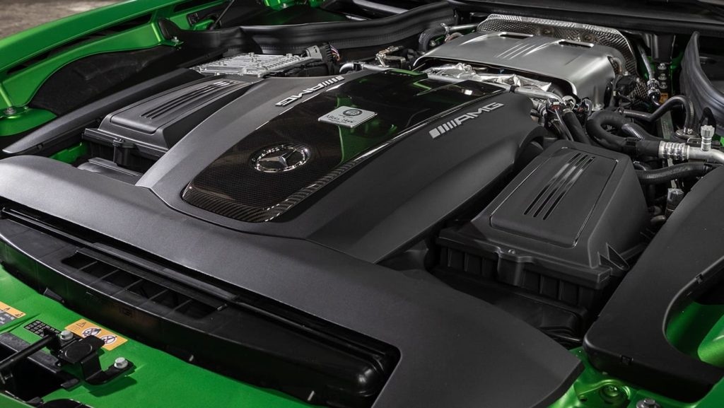 Mercedes-AMG GT R Coupe Engine