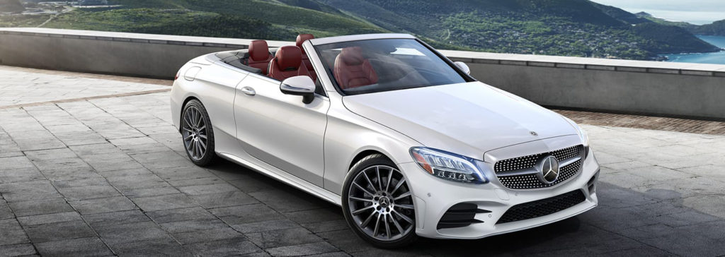 The 2019 C-Class Cabriolet Side