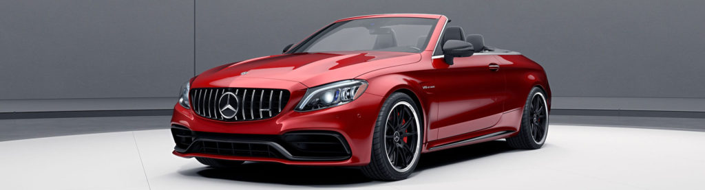 The 2019 C-Class Cabriolet Red
