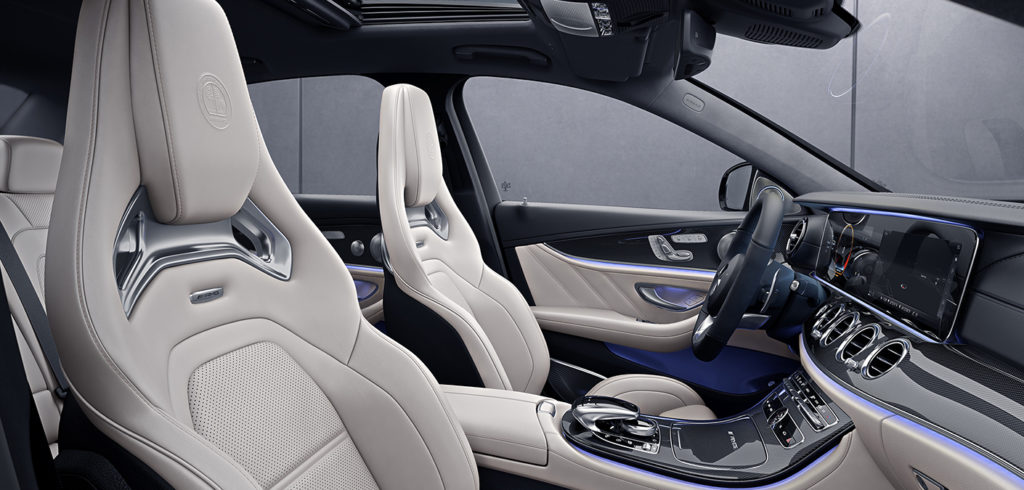 Mercedes-Benz E63 Interior