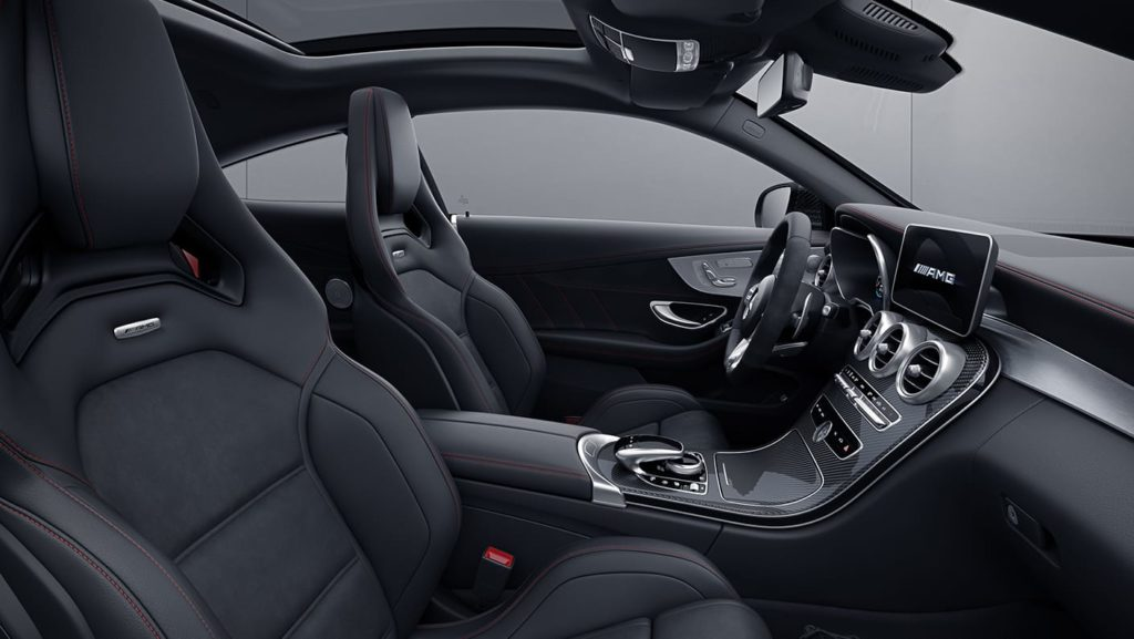 AMG C 63 S Coupe Interior