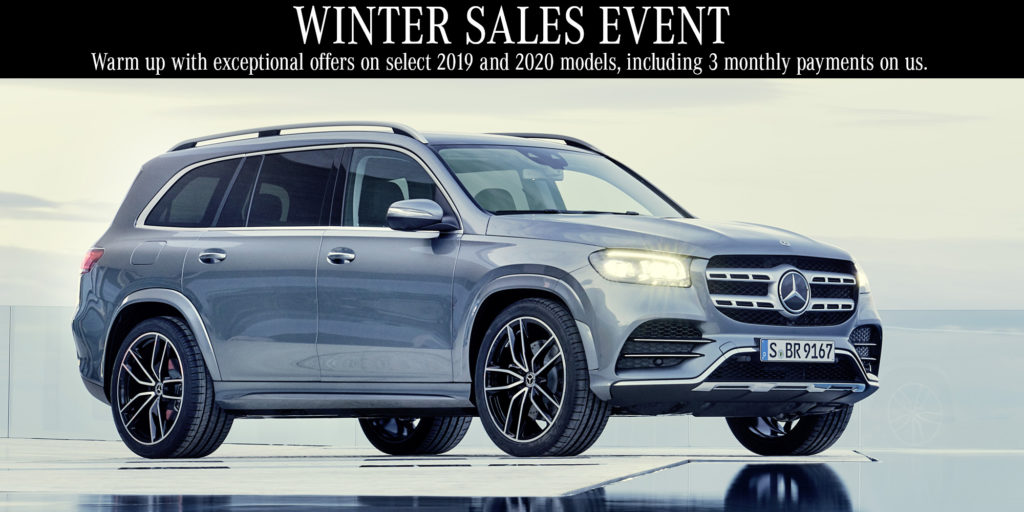 Mercedes-Benz Downtown Calgary Winter Sales Event
