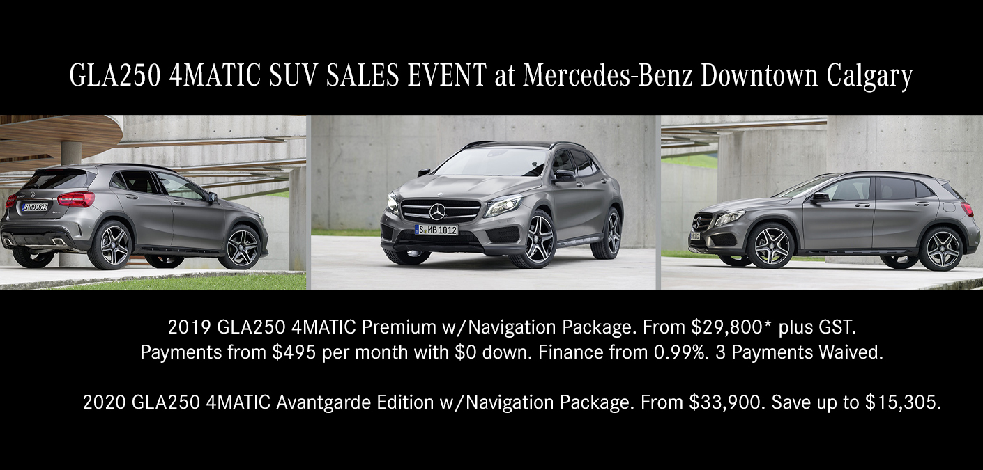 Mercedes Benz Calgary Sales Event