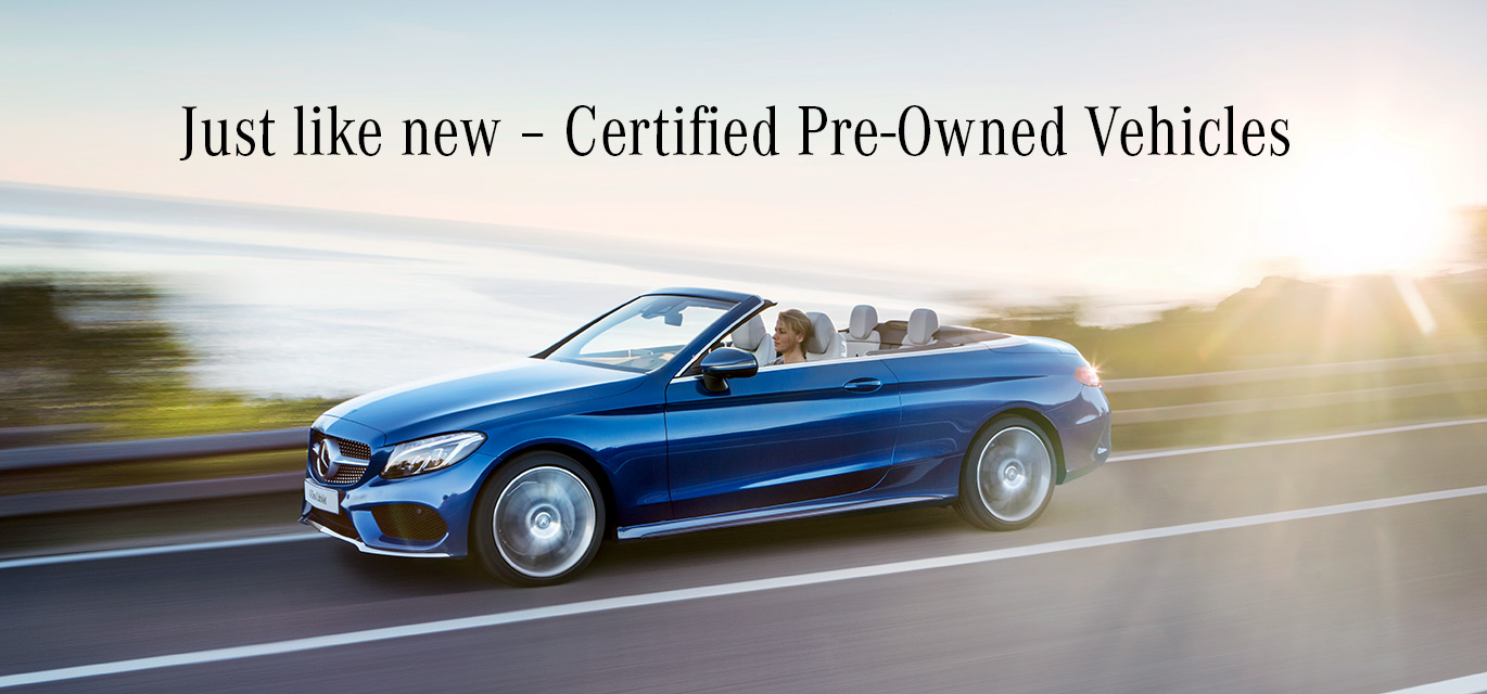 Certified Pre-owned Mercedes-Benz Calgary