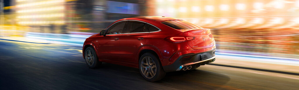 GLE Coupe – SUV or Car at Mercedes-Benz Calgary