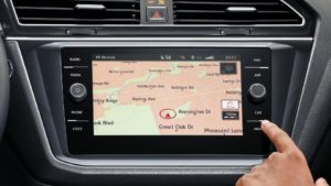 Tiguan touchscreen