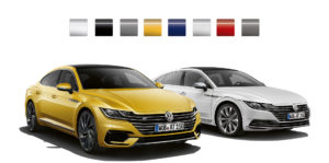 Volkswagen Arteon Colour Selection