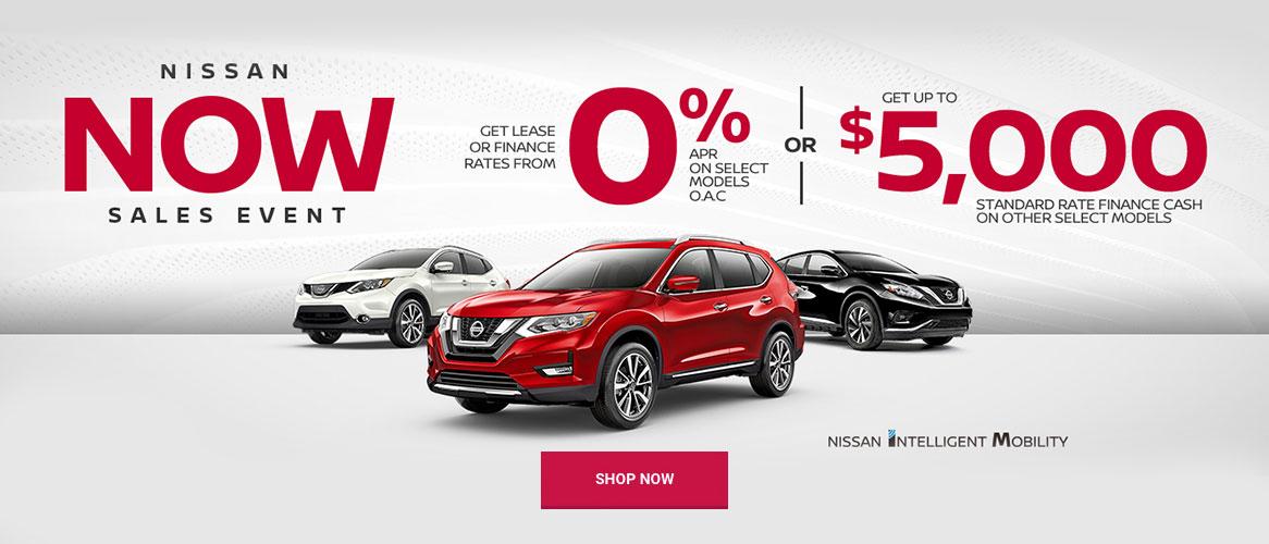 Nissan July 2019 OEM Offer