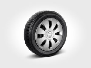 smart pure model steel wheels