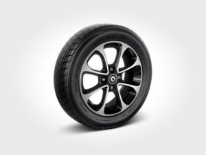 smart passion alloy wheels