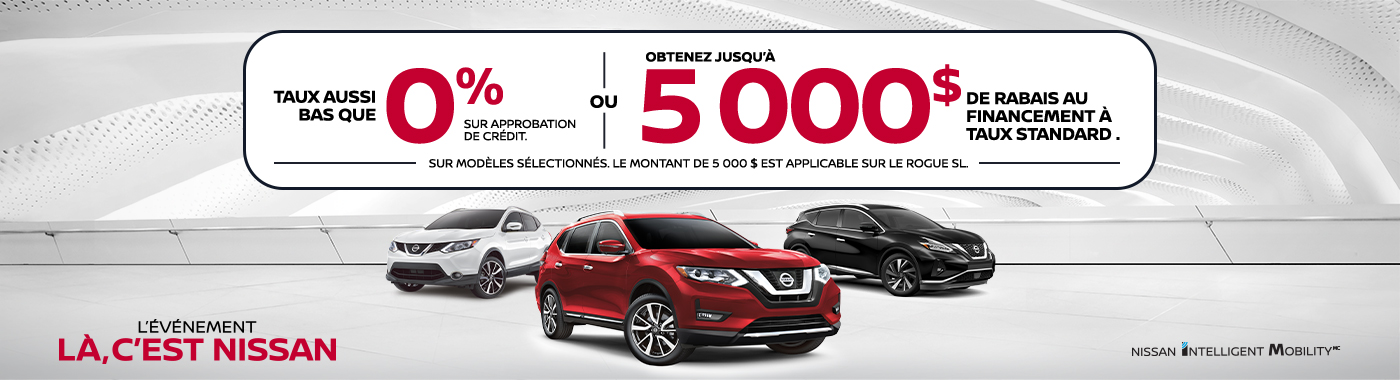 July 2019 Incentive - Nissan