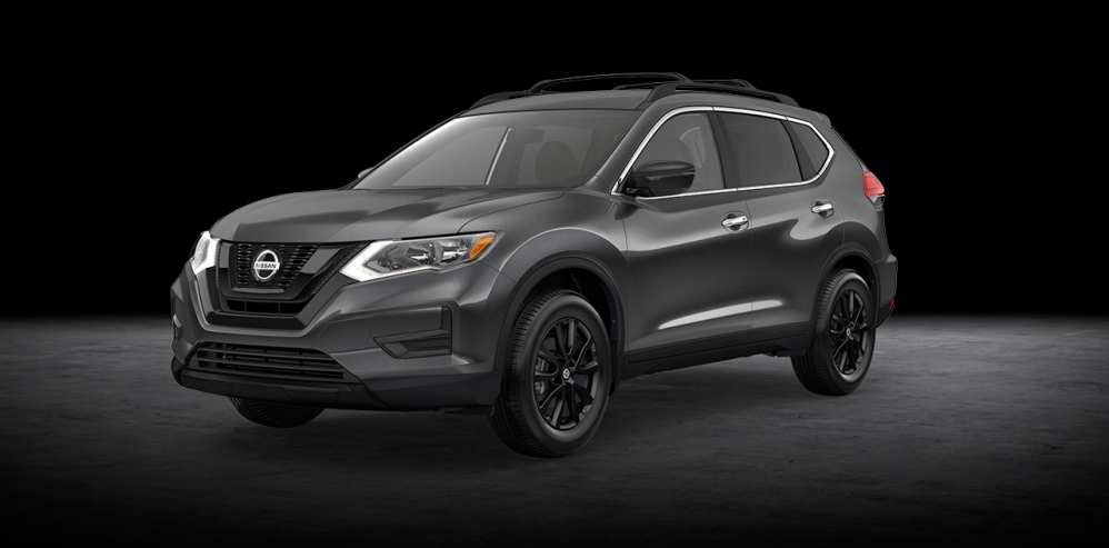 Nissan Rogue Midnight Edition in black