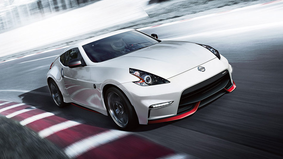 Nissan 370Z® NISMO® shown in Pearl White