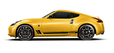 Nissan 370Z Heritage Edition in Chicane Yellow jellybean