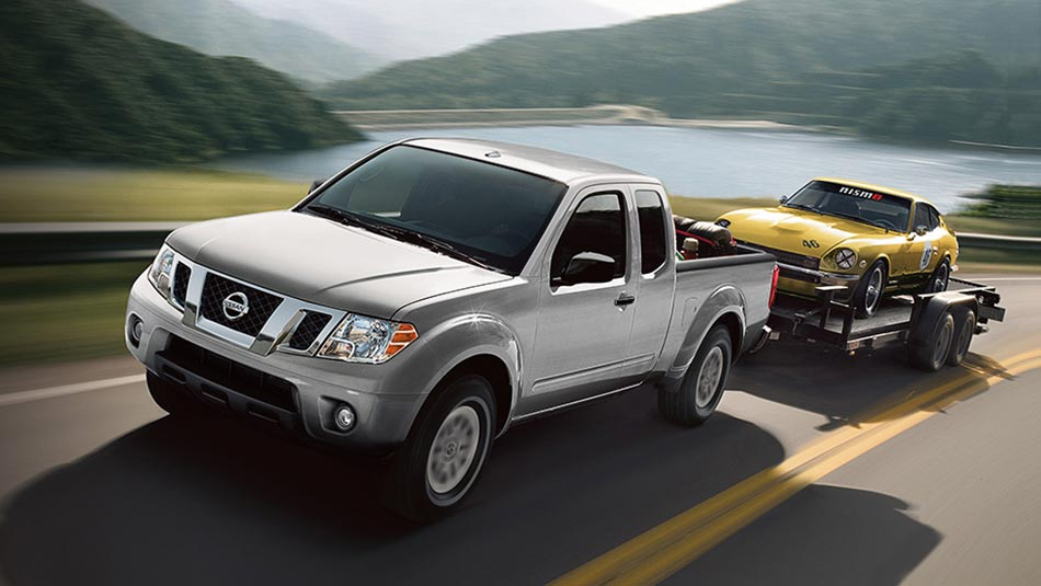 2019 Nissan Frontier towing capacity