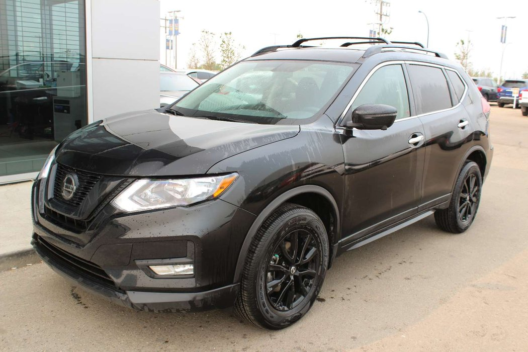 2018 Nissan Rogue Midnight Edition AWD in Magnetic Black | Go Nissan South