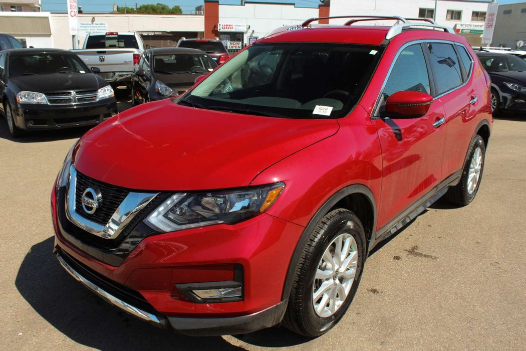 2018 Nissan Rogue Scarlet Ember | Go Nissan South