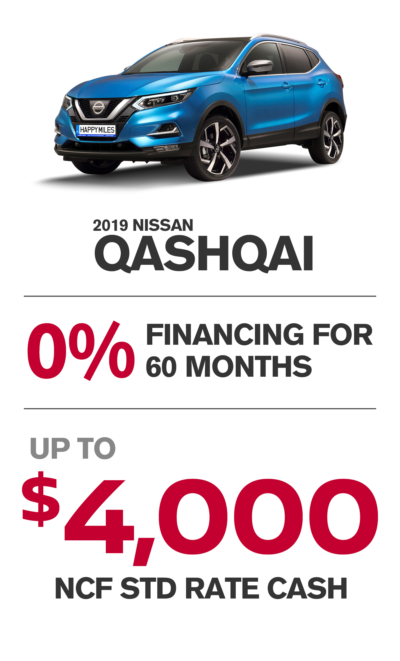 Offer For Qashqai