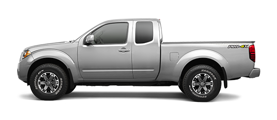 Nissan Frontier in Silver