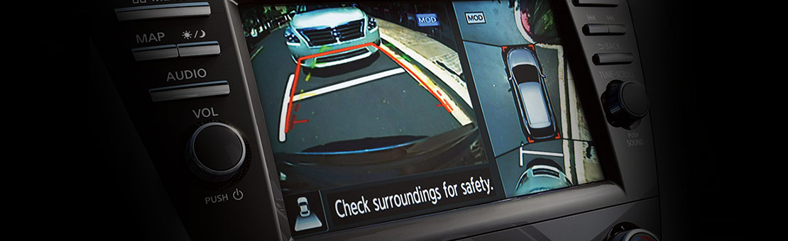 Nissan Murano back-up camera screen