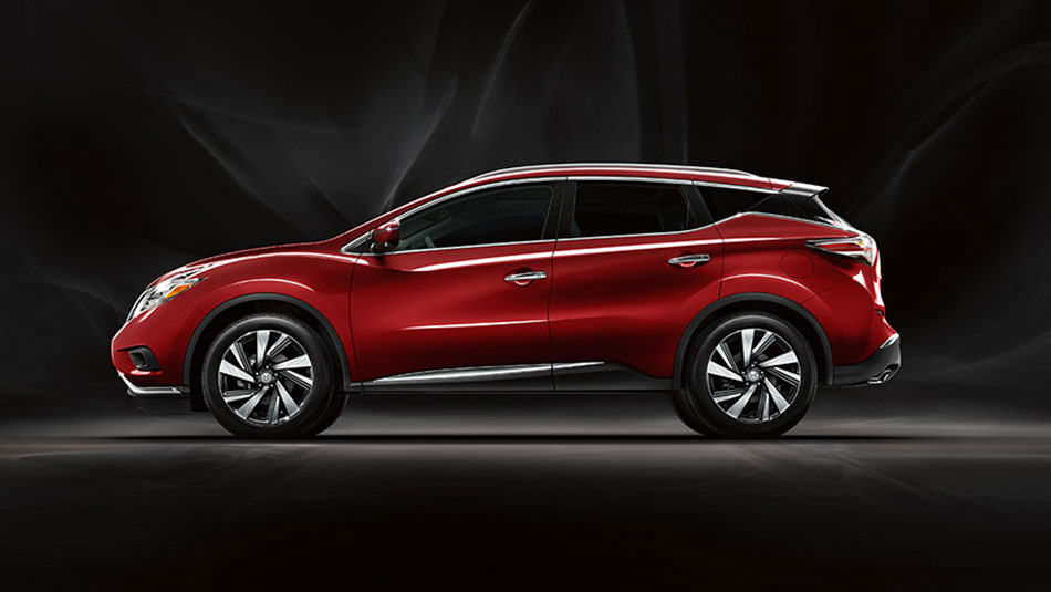 Nissan Murano Platinum AWD shown in Cayenne Red