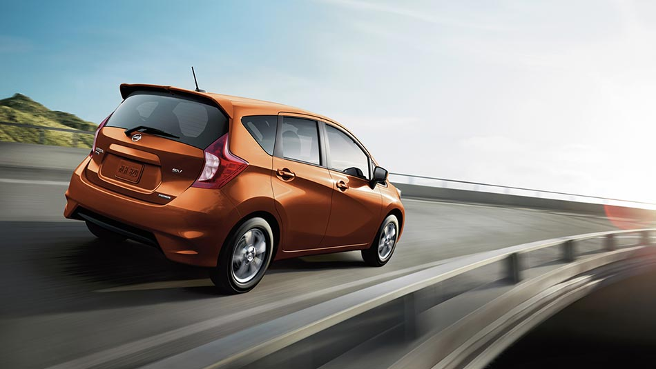 2019 Nissan Versa in Monarch Orange
