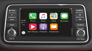 """2018 KICKS 7.0"""" Advanced Drive-Assist Display and available Apple Car Play or Android Auto"""