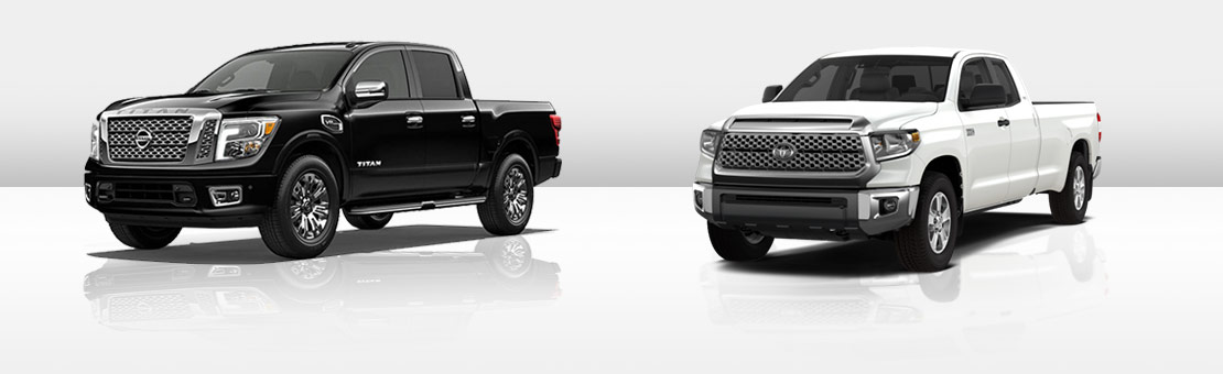Nissan Titan comparison with Toyota Tundra