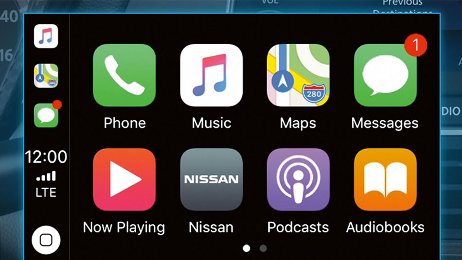 Apple CarPlay and Android Auto.