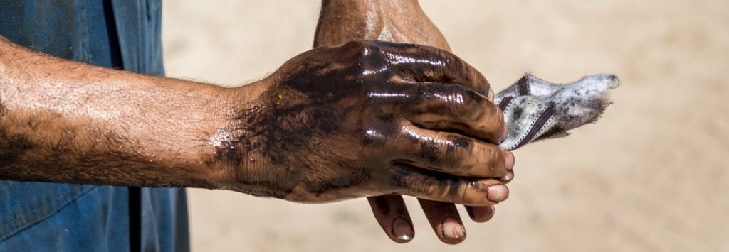 Human Hand, Oil, Manual Worker, Mechanic, Rough Hands, Dirty