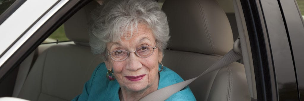 grandma driving slow