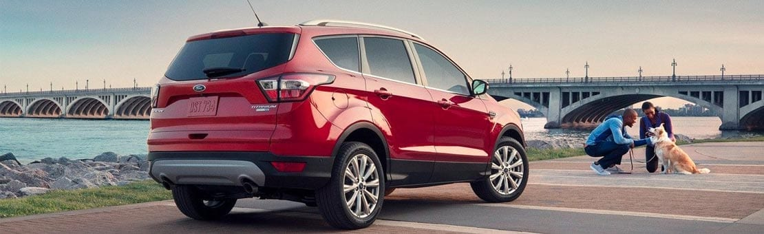 2019 Ford Escape Red Exterior