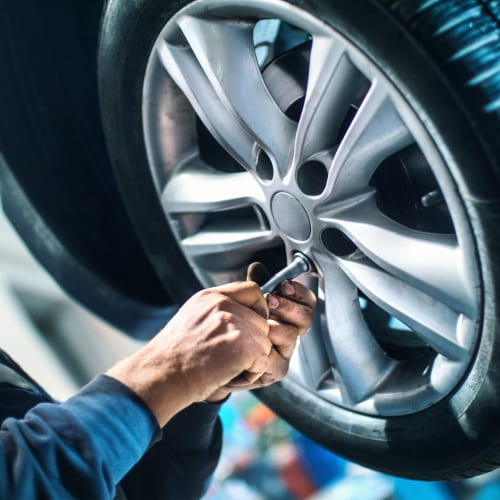 Tire technical service