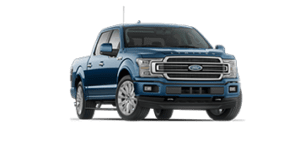 ford f-150 limited in blue