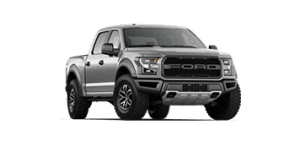 ford f-150 raptor in grey